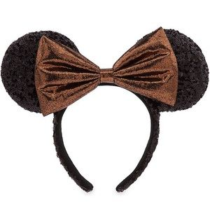 New Disney Parks Belle Bronze Minnie Ears headband